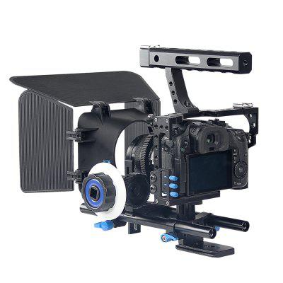 Camera Rig Cage Set 15mm Rod with Matte Box