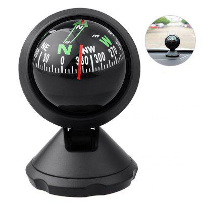 Fashion Multi-Function Auto Mini Car Compass Compact Ball