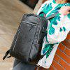 Casual Wearable Daily Men Backpack - BLACK