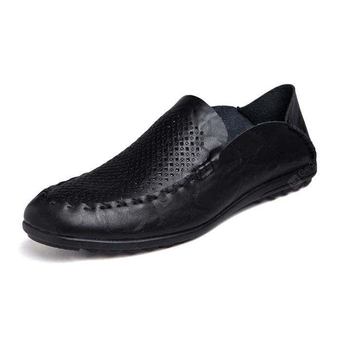 Male Plus Size Breathable Hollow-out Casual Shoes
