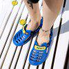 Men Trendy Anti-slip Hollow-out Adjustable Sandals - BLUE