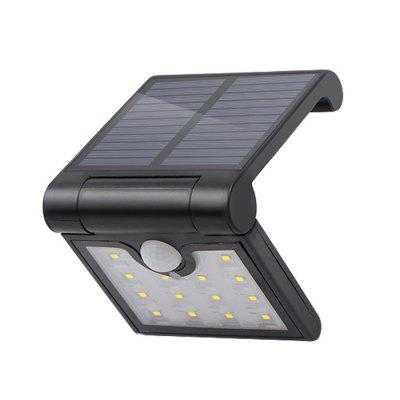 VCT - SLB001 Dobrável 14-LED Body Sensor Solar Power Light