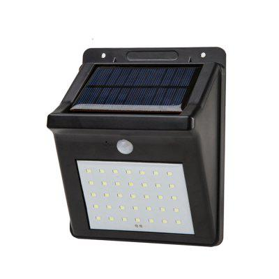 Waterproof Solar Power Body Sensor Light for Outdoor