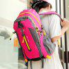 HUWAIJIANFENG Simple Fashion Breathable Men Backpack - FERRARI RED