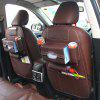 Multi-pocket Car Back Seat Storage Bag 1PCS - COFFEE