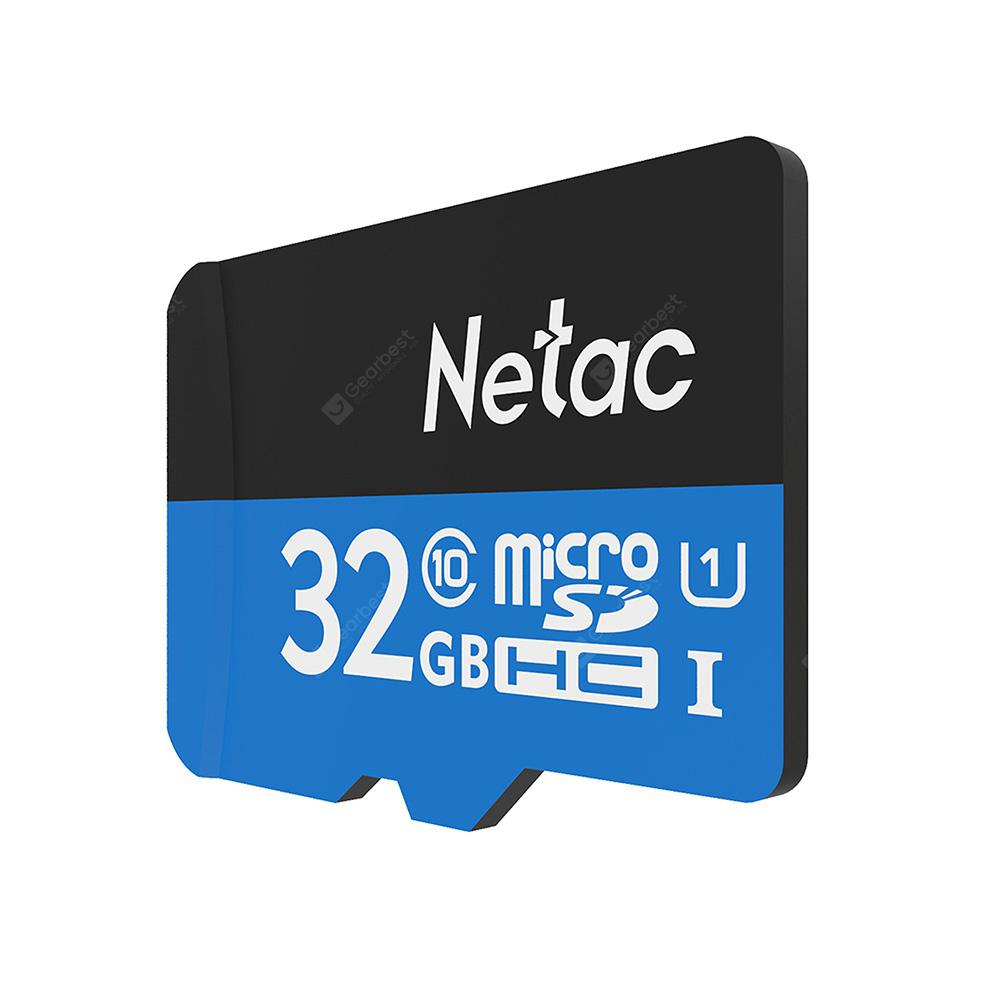 Netac P500 Micro SD-kort 32GB - BLUE EYES 32GB