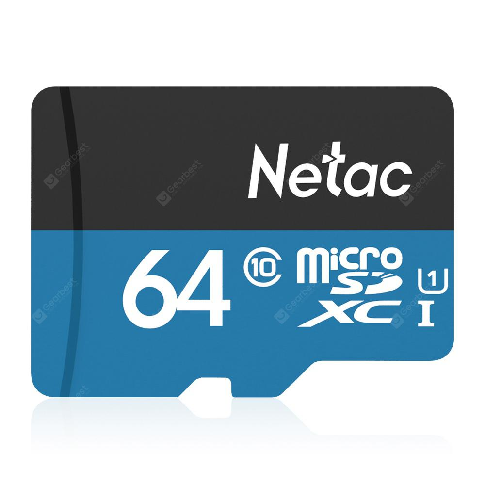 Netac P500 Micro SD Scheda - BLU WINDOWS 64GB