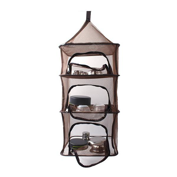 Folding Multifunctional Storage Basket Drying Rack