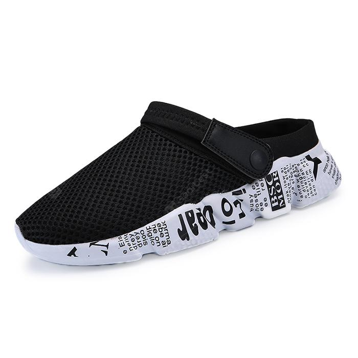 Men Trendy Printed Breathable Dual-use Sandals
