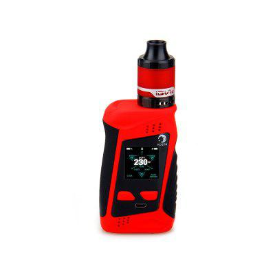 Gearbest YOSTA Livepor 230 Kit - RED Supporting 2pcs 18650 Batteries