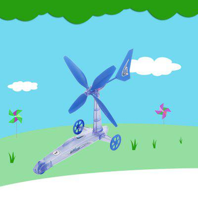 Creative Wind Power Car Windmill Educational Toy Kit