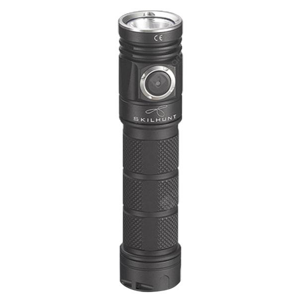 SKILHUNT M200 USB Compact EDC Flashlight