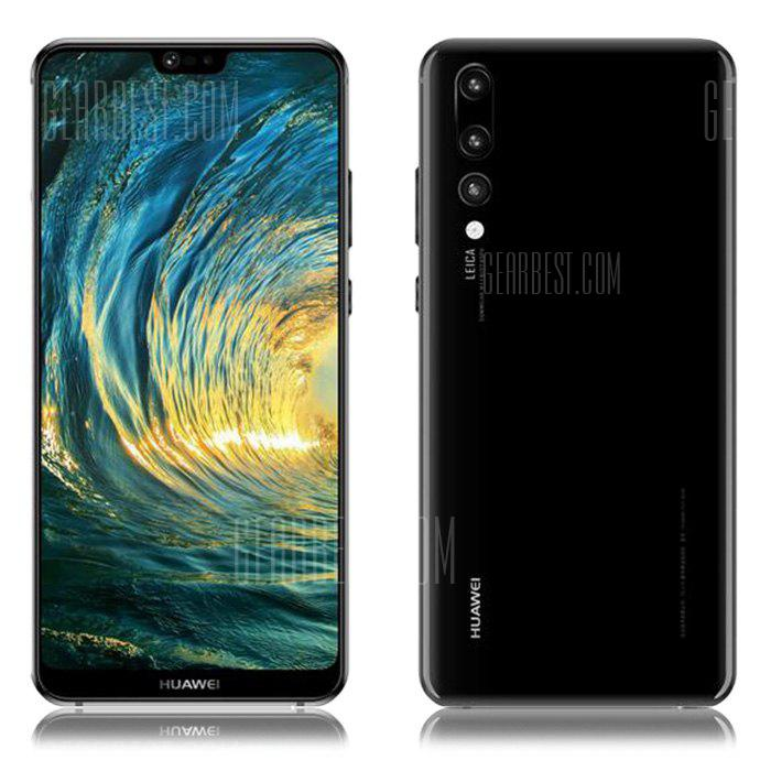 HUAWEI P20 Lite 4G Phablet International Edition - BLACK 4+ 64GB