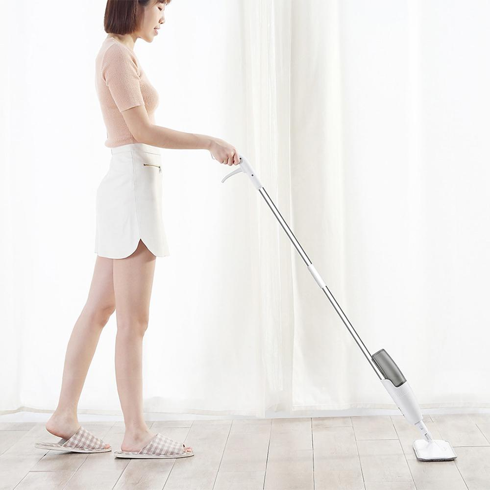 deerma Lightweight Labor-saving Water Spray Mop - WHITE