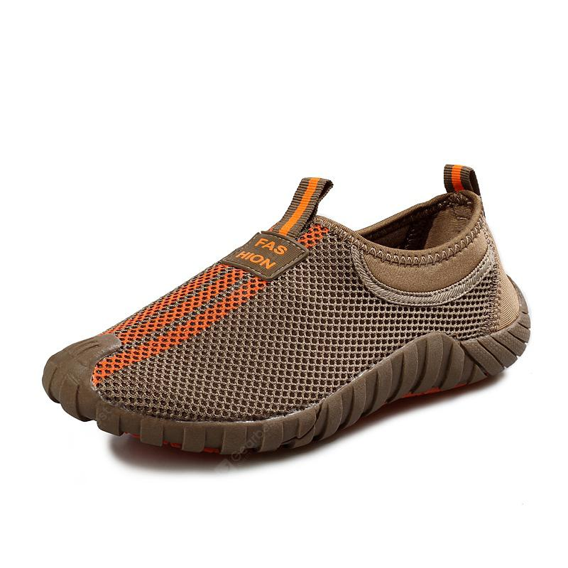 Male Lightweight Breathable Mesh Slip-on Shoes