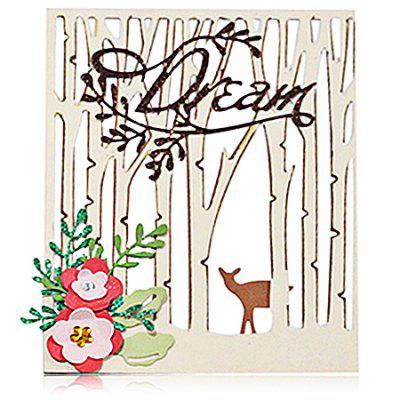 DIY Forests Carbon Steel Cutting Die for Birthday / Christmas / New Year Gift