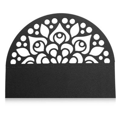 Semicircular Shape Metal Cutting Die for Card Gift