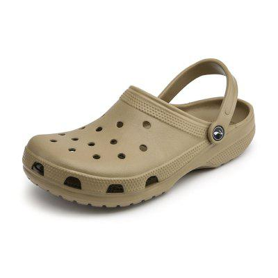 Trendy Anti-slip Dual-use Hollow Sandals for Couple