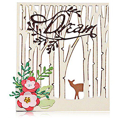 Diy Forests Carbon Steel Cutting Die For Birthday Christmas New Year Gift