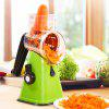 Multifunctional Manual Vegetable Cutter Machine - GREEN YELLOW