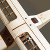 Dancing Wings Hobby CESSNA150 Wood Fly Wing RC Vliegtuigen - CHAMPAGNE