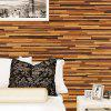 Modern Wall Sticker with Wood Grain Pattern 1PC - LIGHT BROWN