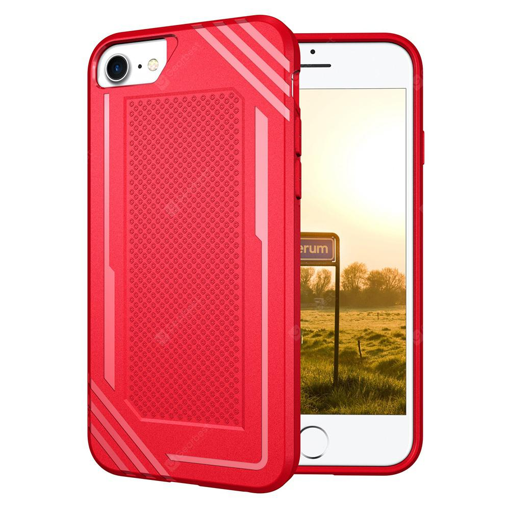 PU Shatter-resistant Protective Case for  iPhone 7 / 8