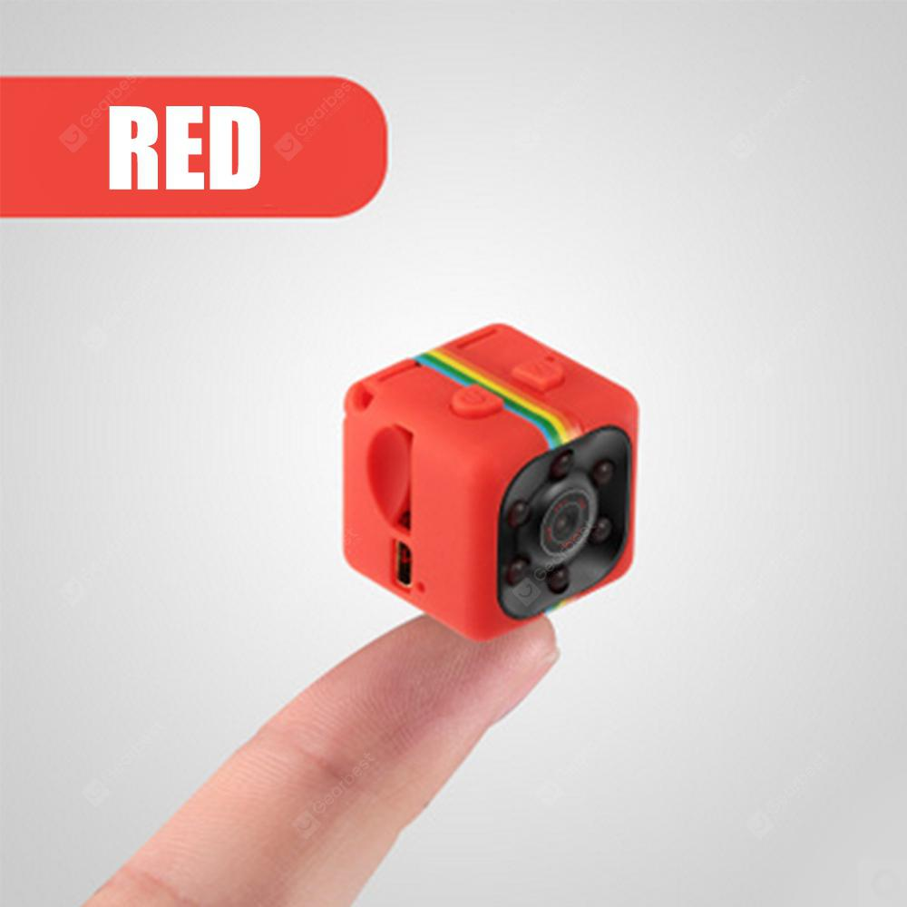 SQ11 Mini Small Camera 1080P High Definition Night Vision Video Camera Outdoor Mini Movement DV - ORANGE