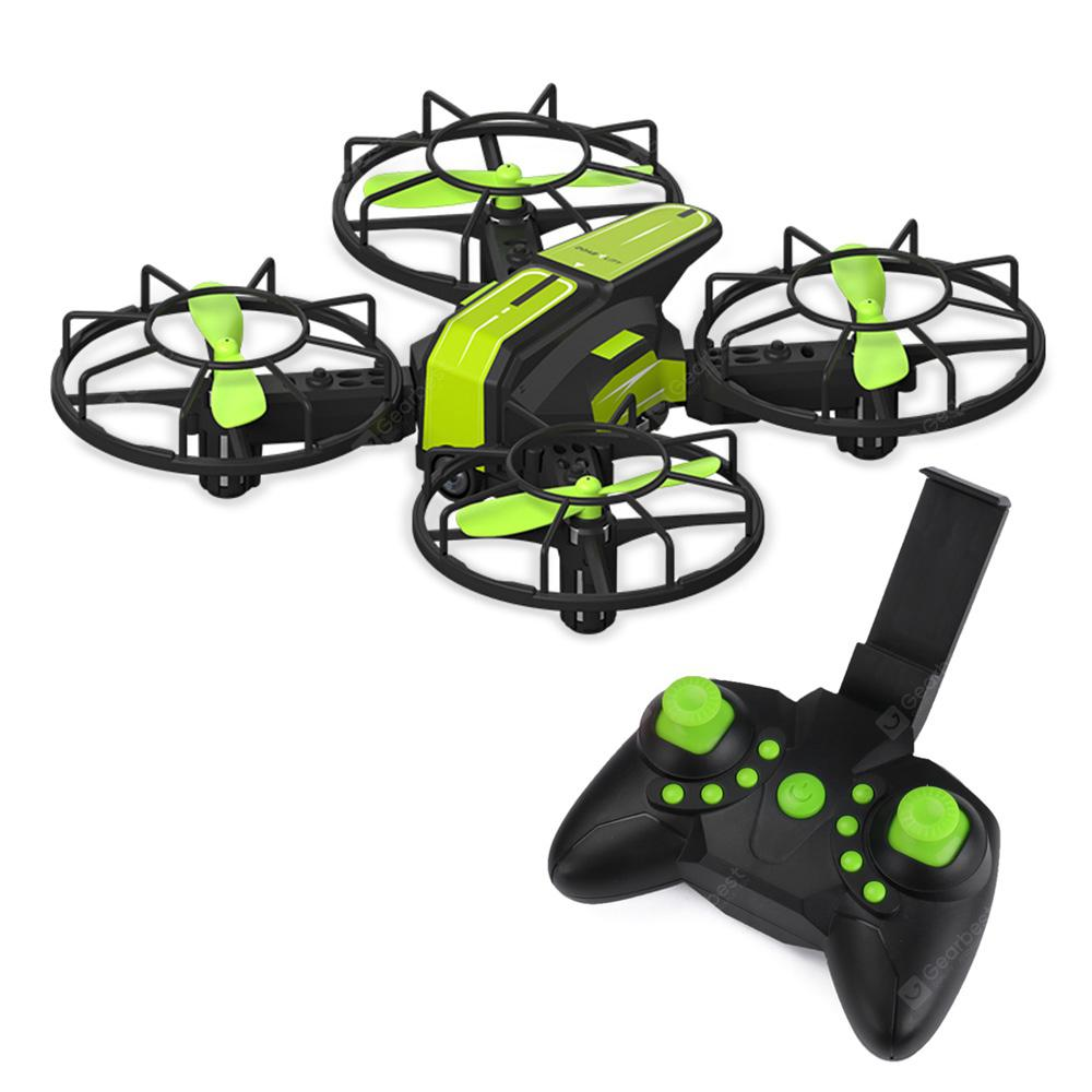 X1 Altitude Hold Headless Mode 360-degree Flip FPV RC Drone - GREEN YELLOW 0.3MP CAMERA