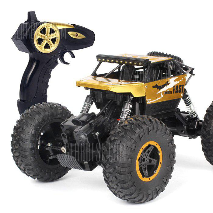P810 1:18 Half Scale 4WD 60 - 90mins Monster Truck RTR - GOLD