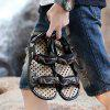 Male Comfortable Magic Tape Beach Sandals - BROWN