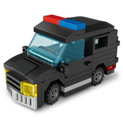 LOZ Police Car Mini Building Block Gift Toy