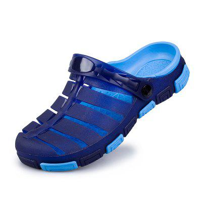 Male Cool Hollow-out Beach Dual-use Slippers Sandals