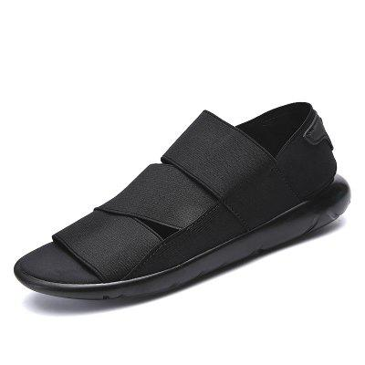 Male Durable Leather Sandals