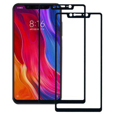 ASLING Full Tempered Glass for Xiaomi Mi 8 SE 2pcs