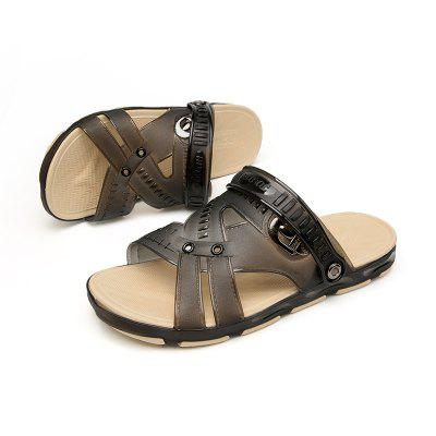 Male Comfortable Sandals Slippers