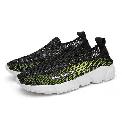 Male Breathable Hollow-out Mesh Casual Shoes