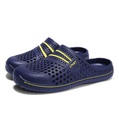 Male Hollow-out Beach Slippers