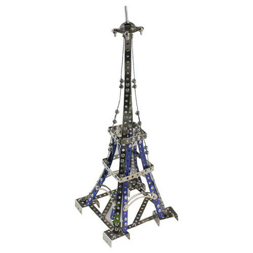 DIY Alloy Assembly Eiffel Tower Model Building Block Toy