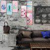 Nordic Style 3D Decorative Wall Stickers 6PCS - MULTI