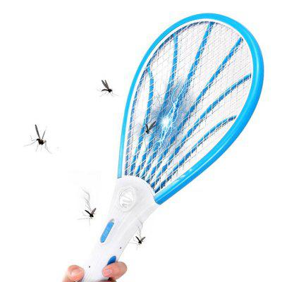 Rechargeable Electric Mosquito Swatter with LED Lamp