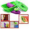 DIY Multifunction Wall Painting Tool Corner Brush Set - GREEN SNAKE