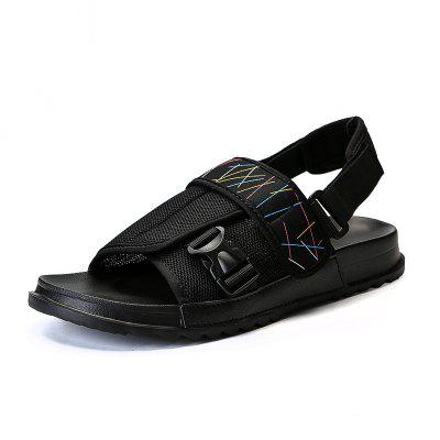 Stylish Male Comfortable Sandals with Buckle