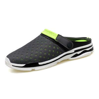 Male Casual Slip-on Breathable Mesh Slippers