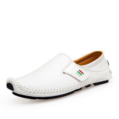 Male Chic Slip-on Casual Leather Shoes