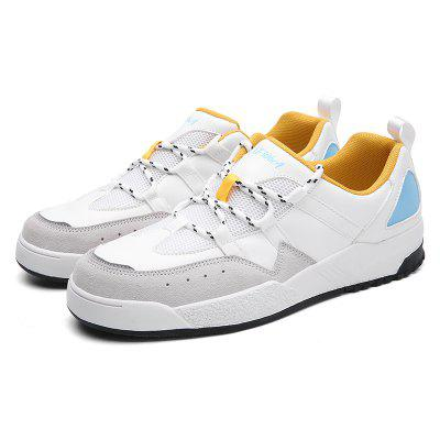 Chic Anti-slip PU Lace-up Shoes for Men