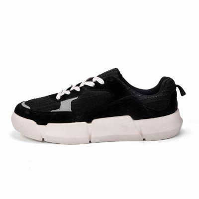 Male Fashion Lace-up Flat Shoes