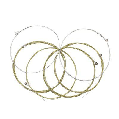 IRIN A107 General Folk Acoustic Brass Guitar String 6szt