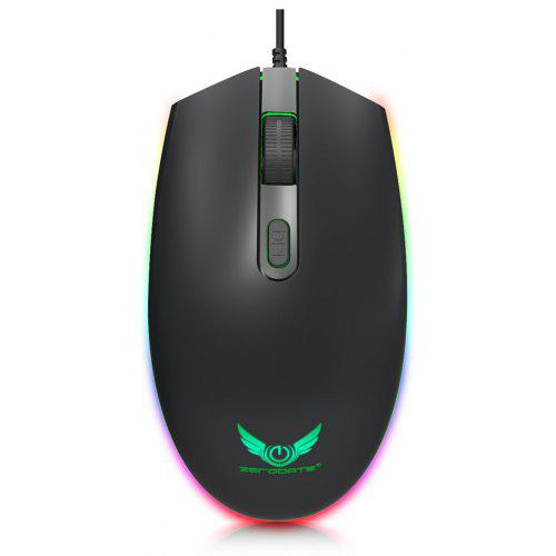 ZERODATE S900 Colorful Backlight Wired Mouse