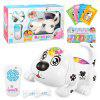 ND093 Crawling Electronic Pet RC Puppy Toy - BLANCO
